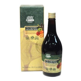 Biozyme V52 Vegetables & Fruits Drink  600ml