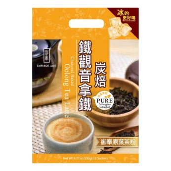 Emperor Love Charcoal Baked Oolong Tea Latte (Bag/12 Sachets)