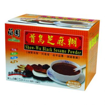 Sweet Garden Show-Wu Black Sesame Powder (BOX)