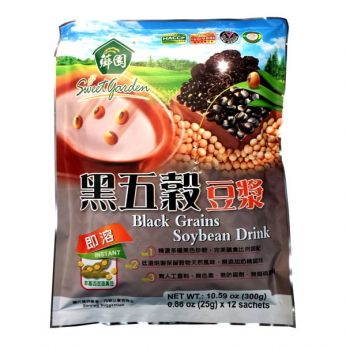 Sweet Garden Black Grains Soybean Drink (Bag)
