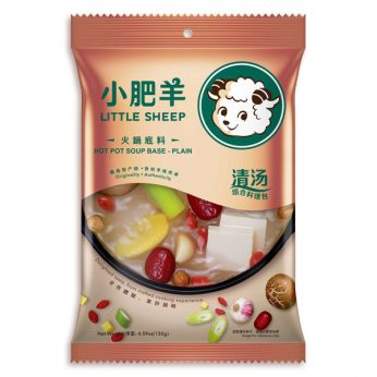 Little Sheep Hot Pot Soup Base (Plain) 小肥羊火鍋底料(清湯)