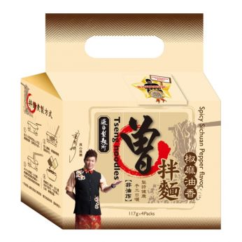 Tseng Noodles Spicy Sichuan Pepper (4 pack)
