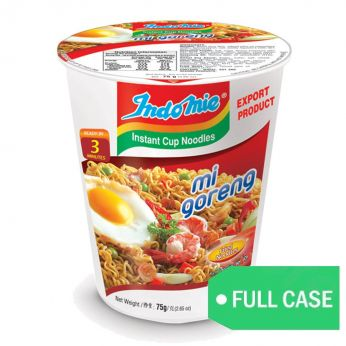 Indomie Mie Goreng Cup Noodle (Case of 12 cups)