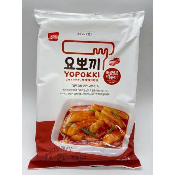 Yopokki Bag Sweet & Spicy Rice Cake 240g 韓國甜辣味炒年糕