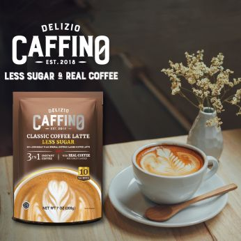 Caffino 3-IN-1 COFFEE LESS SUGAR 少糖三合一咖啡