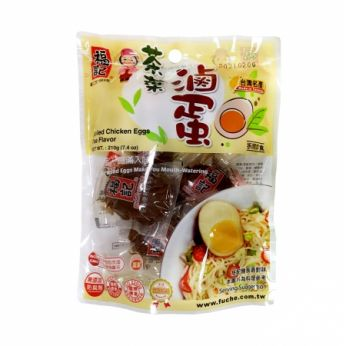 Fuche Soy Sauce Stewed Soft Boil Eggs Tea Flavor  (6 Eggs/Pack)