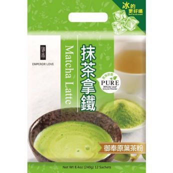 Emperor Love Matcha Latte (Bag/12 Sachets)