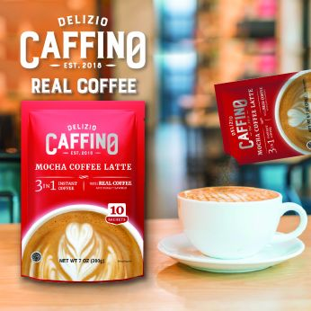Caffino MOCHA 3-IN-1 COFFEE (10 sachets/bag)摩卡三合一咖啡