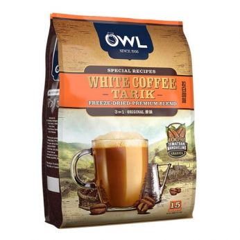 OWL White Coffee Tarik (15 Sachets)