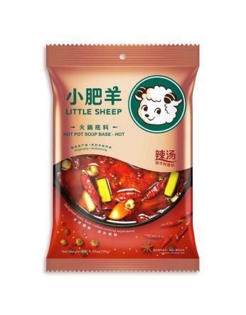 Little Sheep Hot Pot Soup Base (Hot) 小肥羊火鍋湯料-辣湯